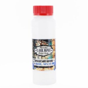 Base without nicotine produced in France. Cloud Vapor base is sold in 140ml and 1L bottles. This base is available with the several different PG/VG ratios.