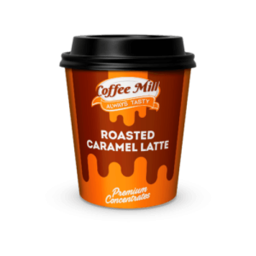 A coffee, carmel and milk flavour. The recommended dilution is 10% flavouring and the recommended steeping time is 3 days.