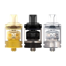 The Oumier WASP Nano MTL RTA is a 22mm Rebuildable Tank Atomizer (RTA) with adjustable air flow. This top-fill RTA features a single coil deck.