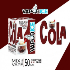 VaporArt VaporICE Cola is your favourite drink with lots of ice, now as a shortfill e-liquid! This shortfill e-liquid features 30%PG/70%VG and is produced in Italy. It is sold in in 50ml bottles filled up to 60ml, which gives you room for one nicotine shot.