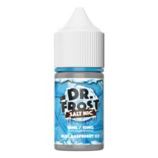 This Blue Raspberry Ice is the Nic Salts version of Dr. Frost fruity e-liquid. This e-liquid is available with 10mg/ml and 20mg/ml Nicotine Salts. and a PG/VG ratio of 40%PG/60%VG.